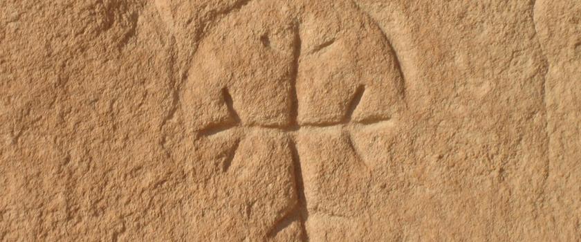 Regenbogenkreuz Dormitio Abtei